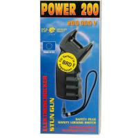 Elektroschocker Power 200 mit PTB-Zulassungund 200000 V...