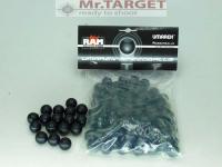 Rubberballs schwarz .68 - 100 Stück