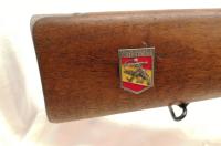 Repetierbüchse Carl Gustafs - M96 - Note 3  - Lauf, System, Kammerstengel nummerngleich, guter Erhaltungszustand, original Plakette ersetzt