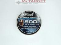 Walther Spitz-Diabolos verkupfert Copper Impact 500...