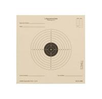 100 Zielscheiben / Ringscheiben 14 x 14 cm