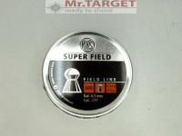 RWS SUPER FIELD Diabolos Field Line 4,51mm - 500 Stück