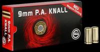 Geco/RWS 9mm PA P.A.Knall Platzpatronen 50 Schuss