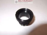 Falkenauge (Falconeye) Made in Germany, Optik für Ringkorne, Diopter, 0,75dpt = Vergrößerung um ein Drittel, Gewinde M18x1 für alle gängigen Diopter/Ringkorne  Qualitätsgarantie
