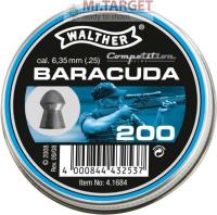 WALTHER BARACUDA 6,35 mm, 200 Stück