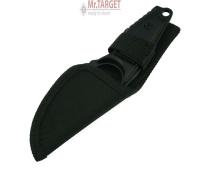 Survival Ringmesser feststehend Stainless mit Tasche