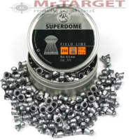 RWS Superdome .22 Cal, 4,5mm ,0,54 g, 8,3 gr, Domed, 250stk