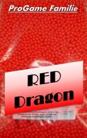 """1kg Softairkugeln """"Red Dragon"""" (rot) von Pro..."""