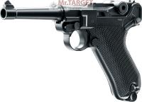 Legends P08 CO2 Pistole 4,5 mm Stahl BB brüniert,...